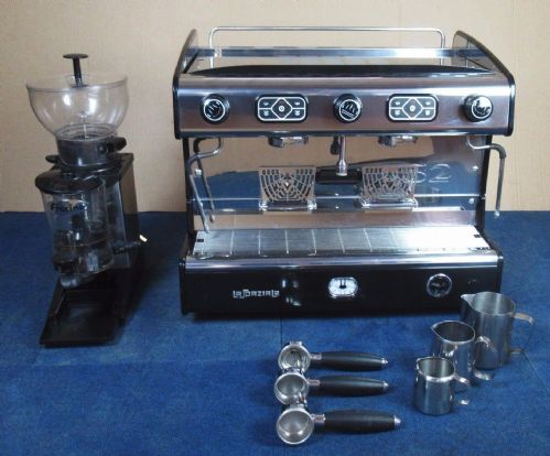 La Spaziale S2 EK TA 2 Group Takeaway Coffee Espresso Cappuccino Machine Grinder